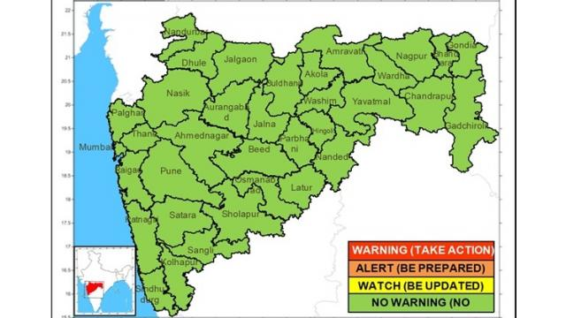 Chance of light rain in the state