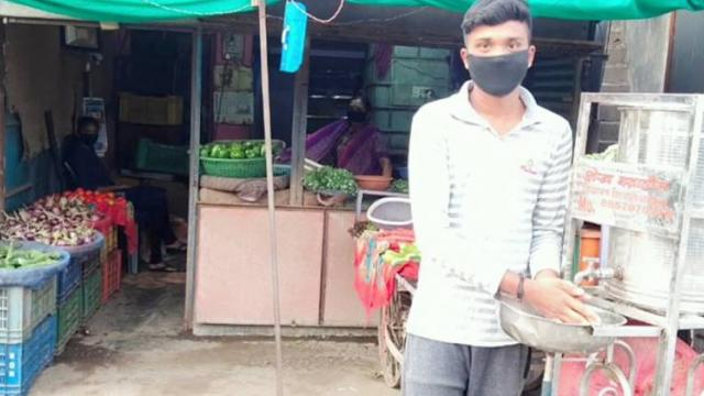 Measures taken by the administration to sell vegetables in Akola