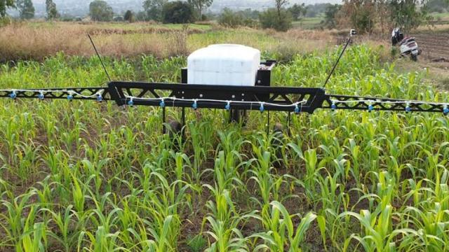 robots Developed for precisely spraying