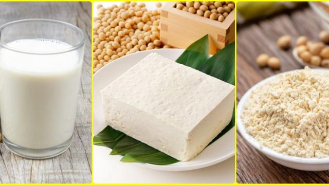 value added products of soyabean