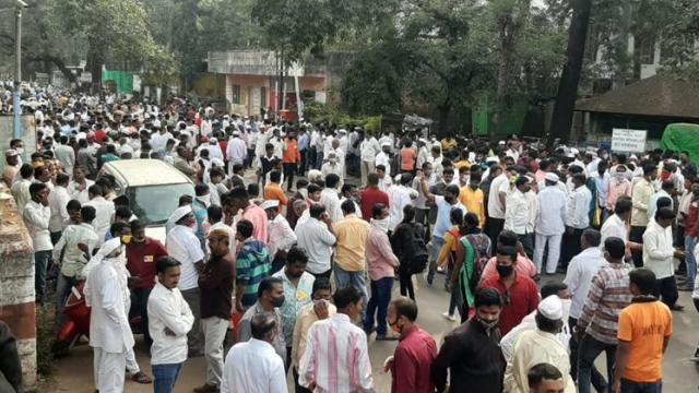 Jallosh of local fronts in Satara district
