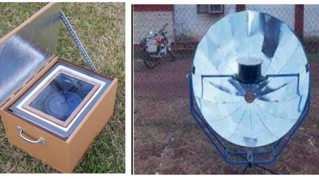 environment friendly solar cooker