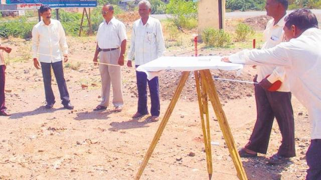 Solapur district land records earned revenue of Rs 30 lakh