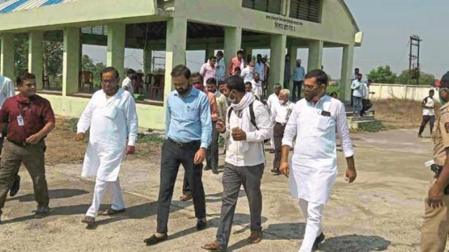 Try to facilitate registration in village for sale of green gram, tour : Dr. Itankar