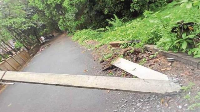 Extreme rainfall in Sindhudurg, loss of Rs 1 crore