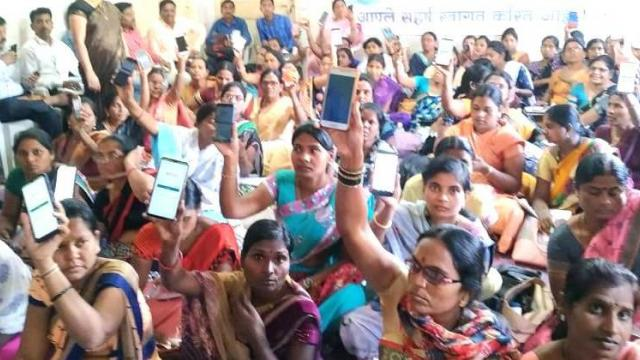 Women Savings Group in Washim District on Digital Turn
