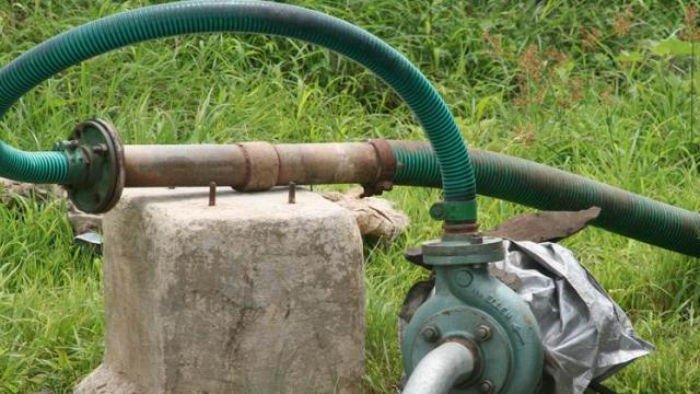 What about the connection of the disconnected agricultural pump?