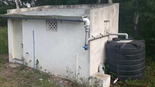 rain water harvesting unit
