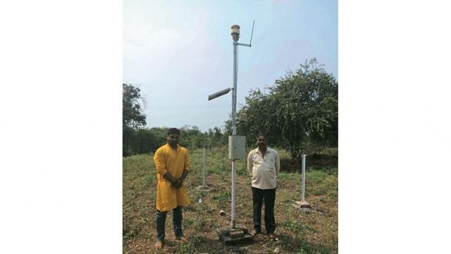 finally setting up a weather station at Ruikhed