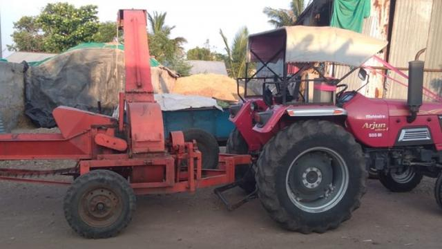 purchased kadaba kutty machine for silage preparation