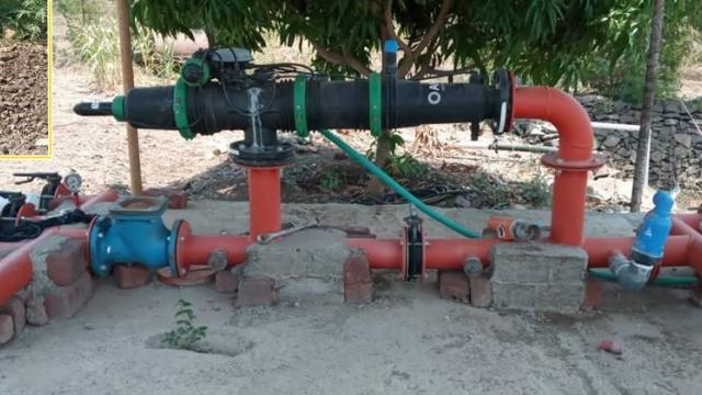 automatic drip irrigation system and subsurface drip irrigation line