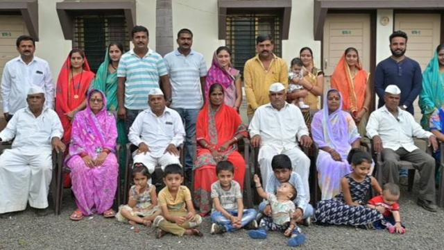 Bhamre family of 31 members