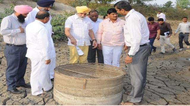 Punjab Rural Development Minister Maluka inspected various works in the village and appreciated them.
