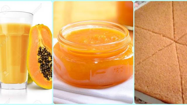 Make value-added foods from papaya