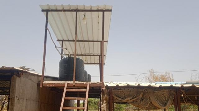sheets are used on tanks to keep water cool