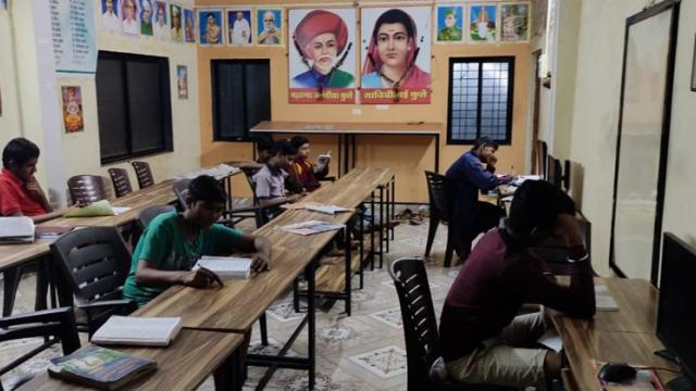 library in village for students