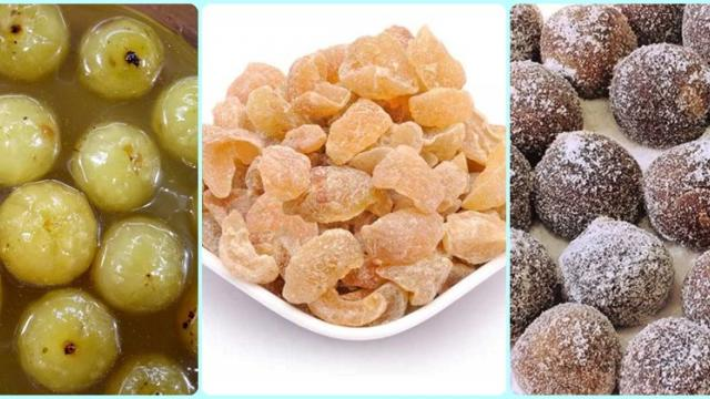 Amla processing products