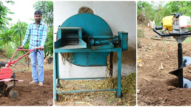 farming machines are developed as per need