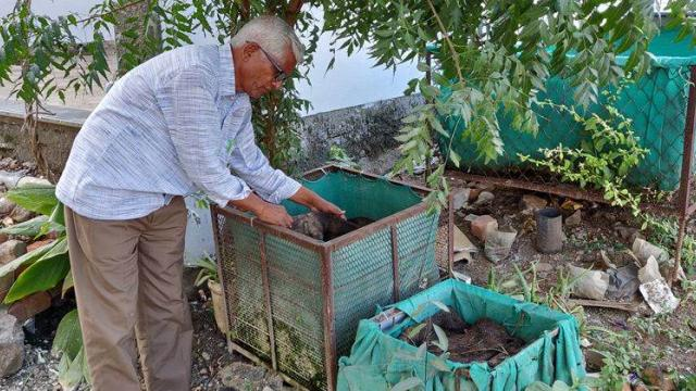 Small sheds of vermicompost production