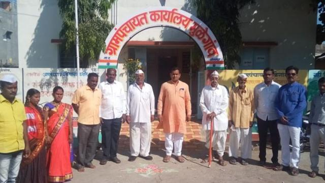 All members of Gram Panchayat