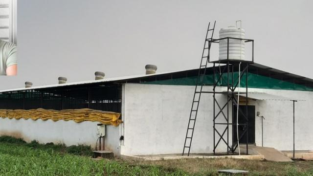 Equipped poultry farm with all facilities