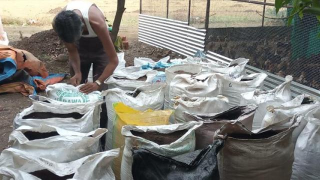 Production and sale of vermicompost