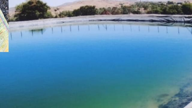 Farm pond for sustainable water supply