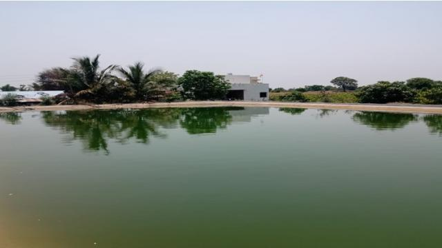 Water resources protected by the farm pond
