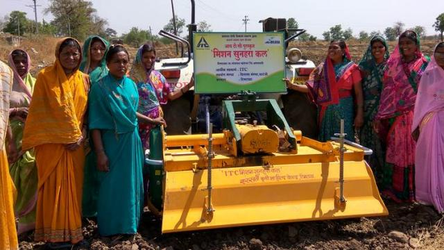 Supply of tools to women self help groups through the organization