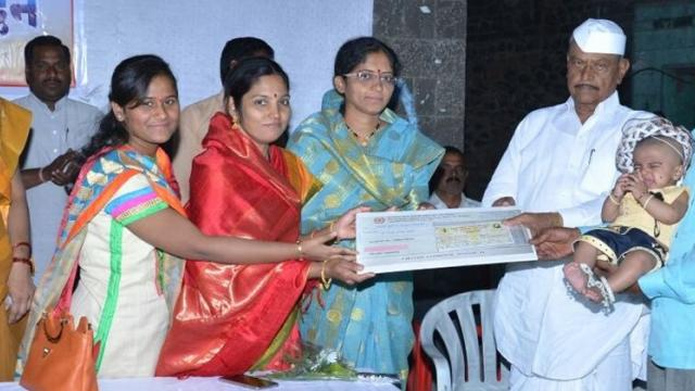 from the Sarpanch sukanya Yojana, the two thousand rupees are deposited on each girls name.