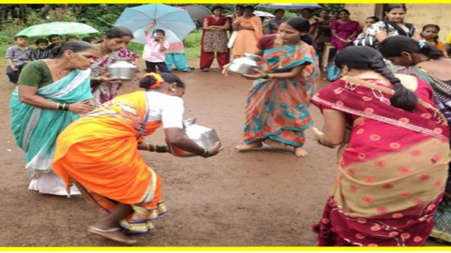 traditional sports events organised for village women's
