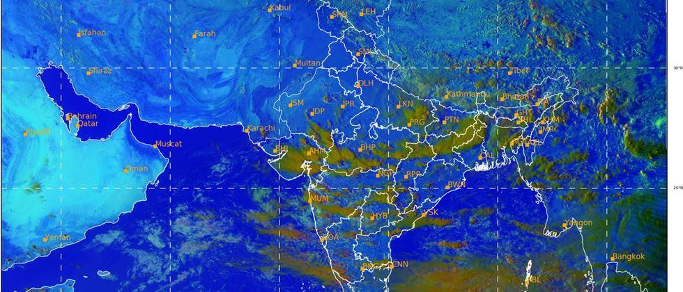Chance of heavy rain in sparse places