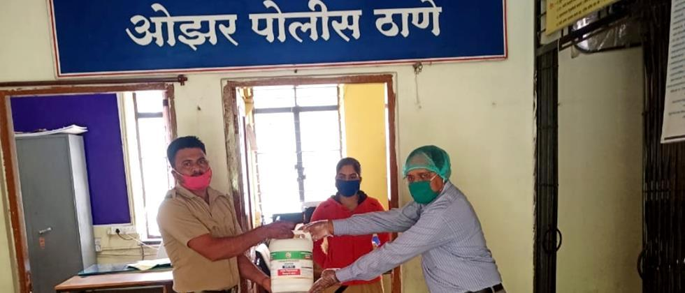 Distribution of sodium hypochlorite to government offices