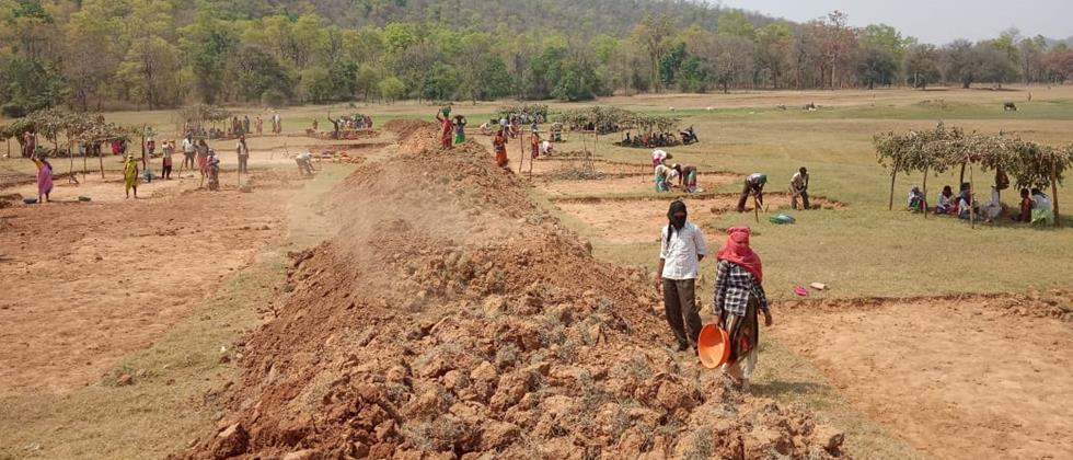 Employment of over 50,000 laborers in Bhandara district