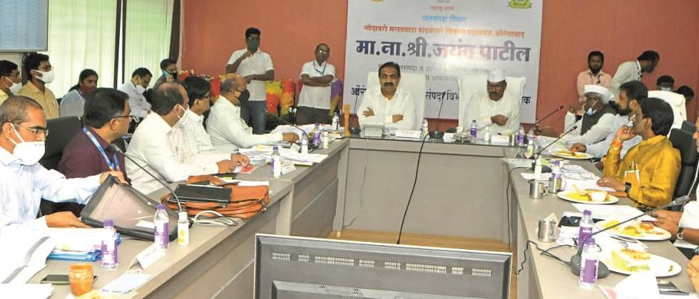Water conservation projects in progress should be completed soon: Jayant Patil