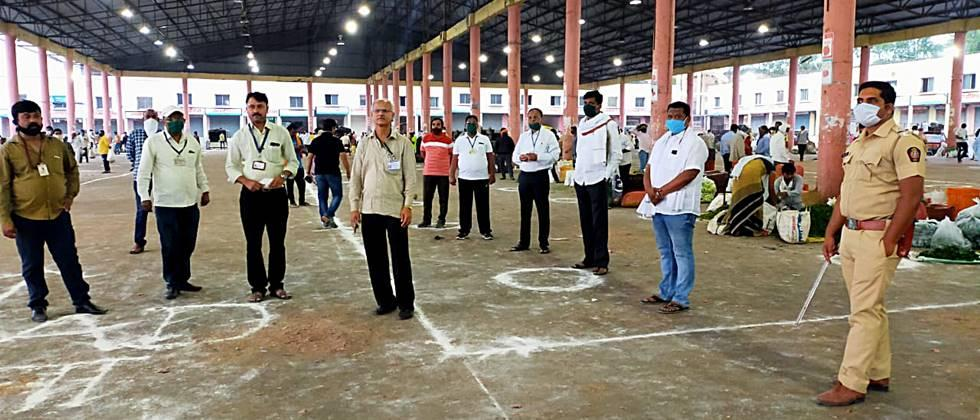 Co-ordinating city market committee started