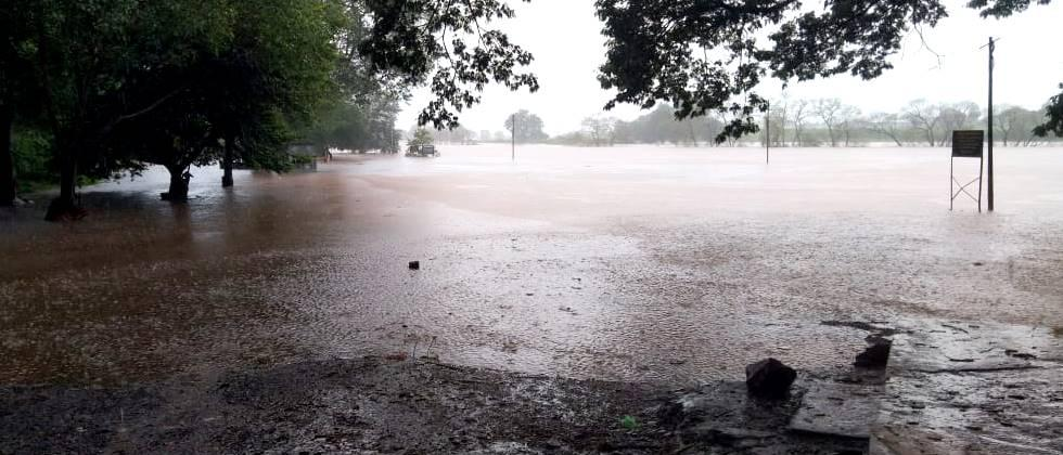 Due to heavy rains in Kolhapur, rivers left the basin