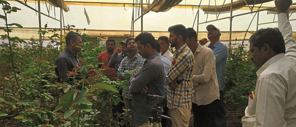 Launches high technology based flower training program