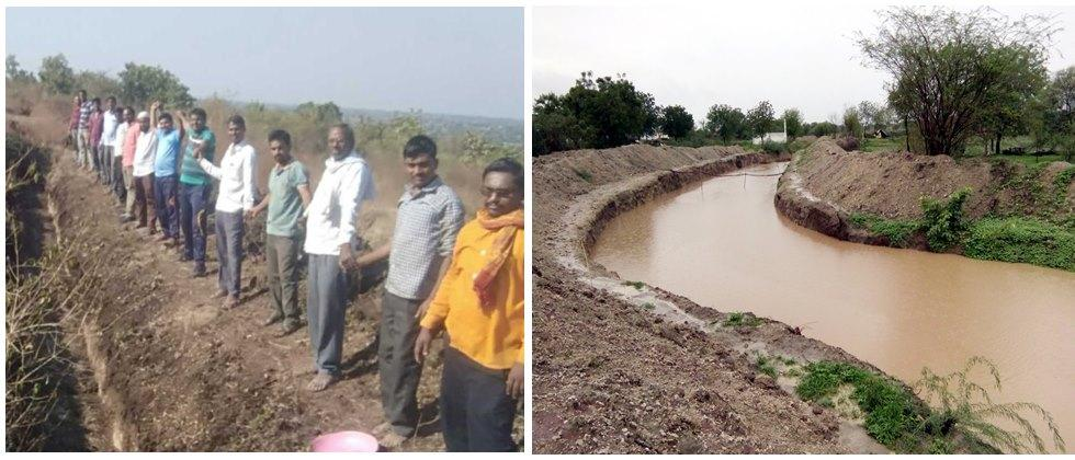 Water conservation with help of villagers