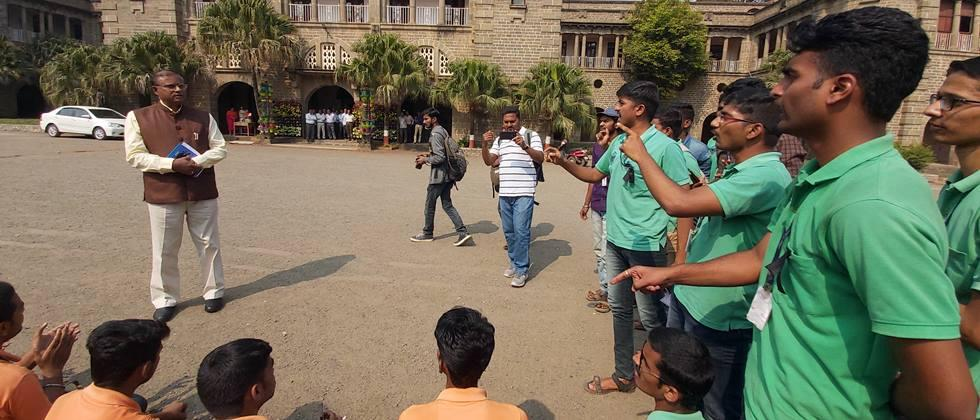 agitation of agriculture students for demands