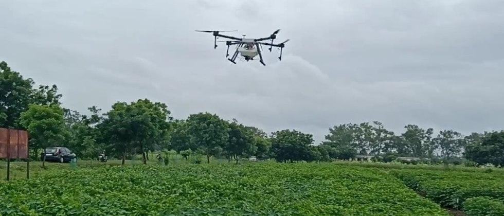 Use of drone technology in agriculture