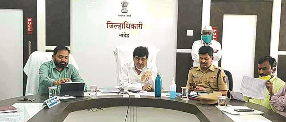 Try to solve the problems of the farmers: Guardian Minister Chavan
