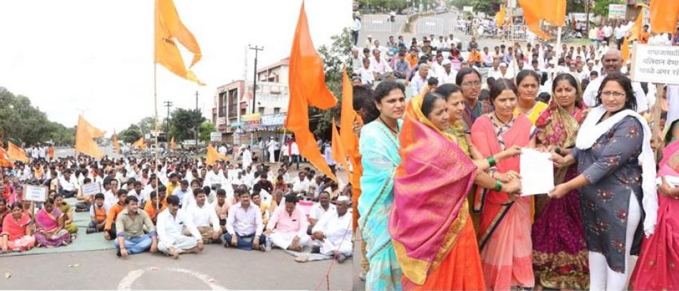 For Maratha reservation Morcha on 4th July in Solapur