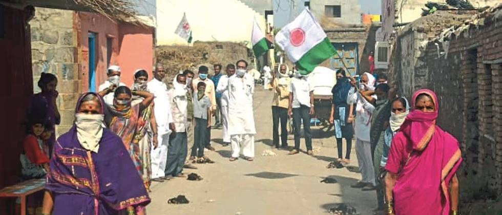 Parbhani, Nanded, Hingoli 'Handful of Cotton Burn' Movement