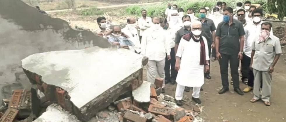 To the victims of 'nisarga' Government help soon: Bhujbal