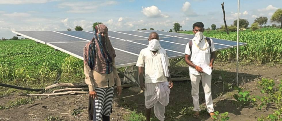 Solar agricultural pumps to over five thousand farmers in Nanded, Parbhani, Hingoli