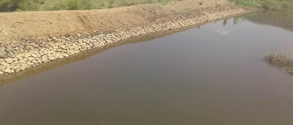 100 percent water in five small lakes in Parbhani district