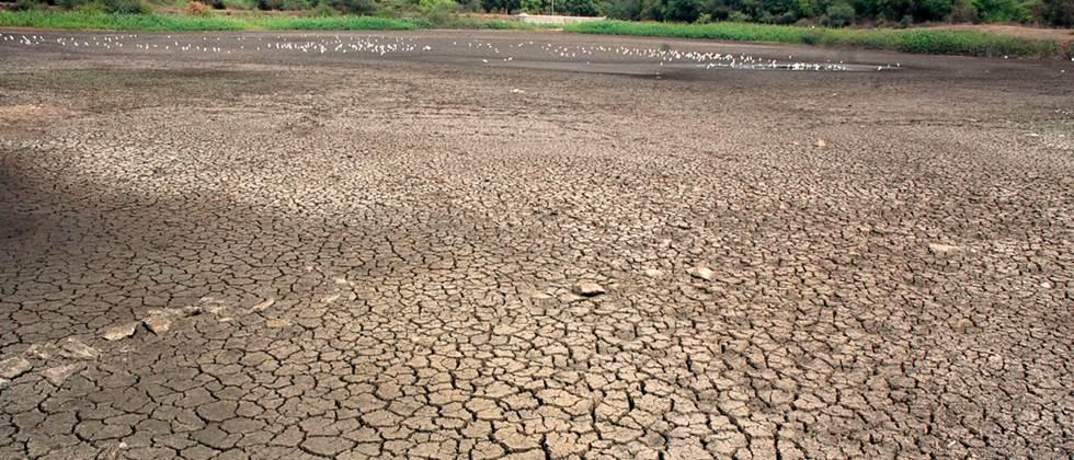 Dry the Five small irrigation pond in Parbhani district