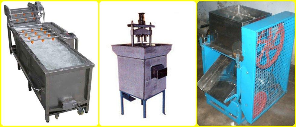 Aamala processing machines