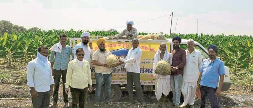 Sales of vegetables directly from farmers to consumers in Nanded district